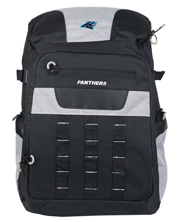 "<ul class=""product-bullet-list""> <li>Material: 100% Polyester</li> <li>Front zipper pocket with organizers</li> <li>Mesh side pockets and padded backstraps</li> <li>Top padded mesh handle</li> <li>Measures approximately 18"" x 12""</li> <li>Embroidered team logo</li> <li>Officially licensed</li> </ul> Made by Northwest"