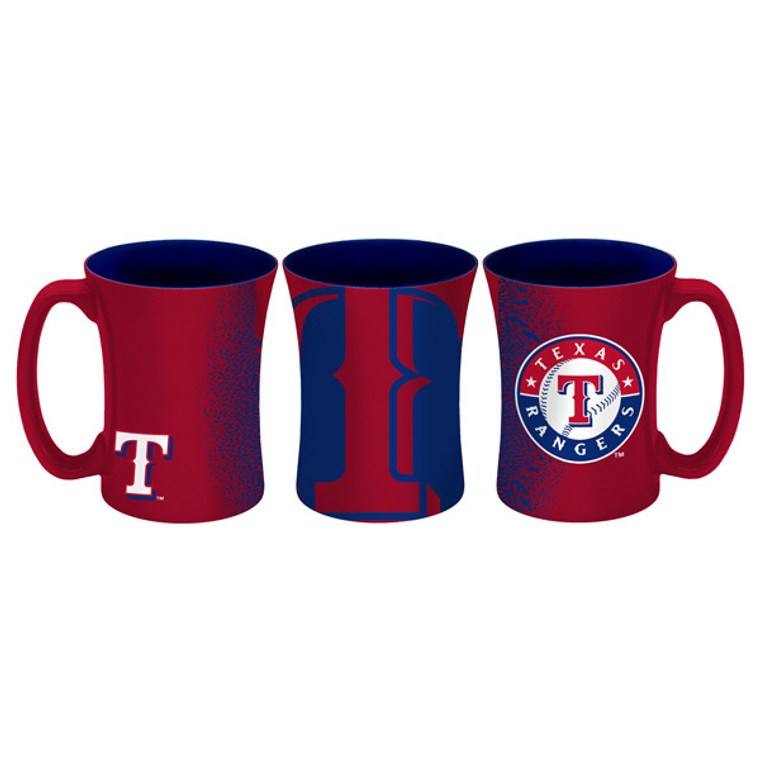 14 ounce sculpted ceramic mug decorated with bright and colorful NFL team graphics and colors.***Actual color may vary***Made By Boelter Brands