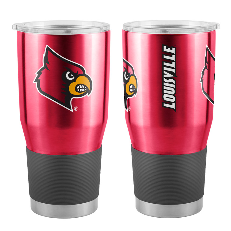 Louisville Cardinals Travel Tumbler 30oz Ultra Red Special Order