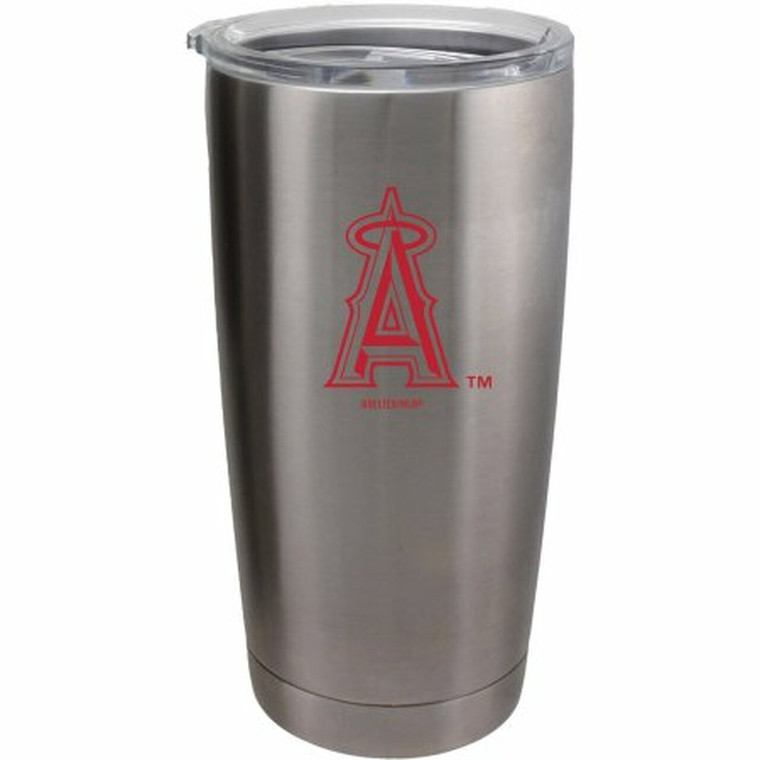 Los Angeles Angels Travel Tumbler 20oz Ultra Silver CO