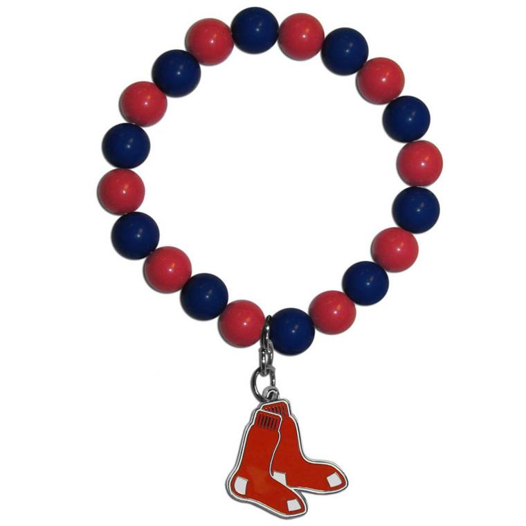 Boston Red Sox Bracelet Bead Style CO