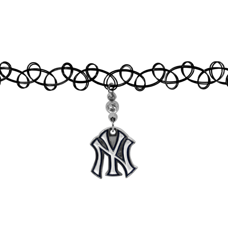 New York Yankees Necklace Knotted Choker