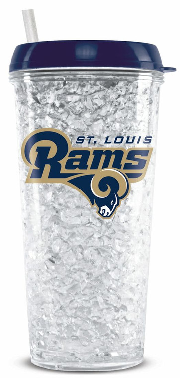 St. Louis Rams Tumbler Crystal Freezer Style