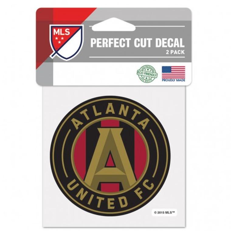 Atlanta United Decal 4x4 Perfect Cut Color
