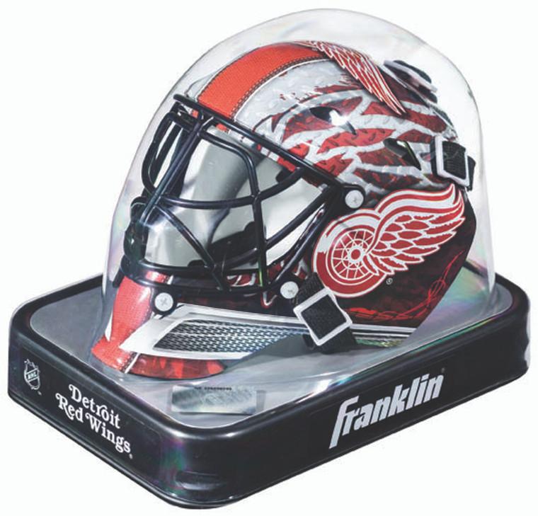 Detroit Red Wings Helmet Replica Mini Goalie Style
