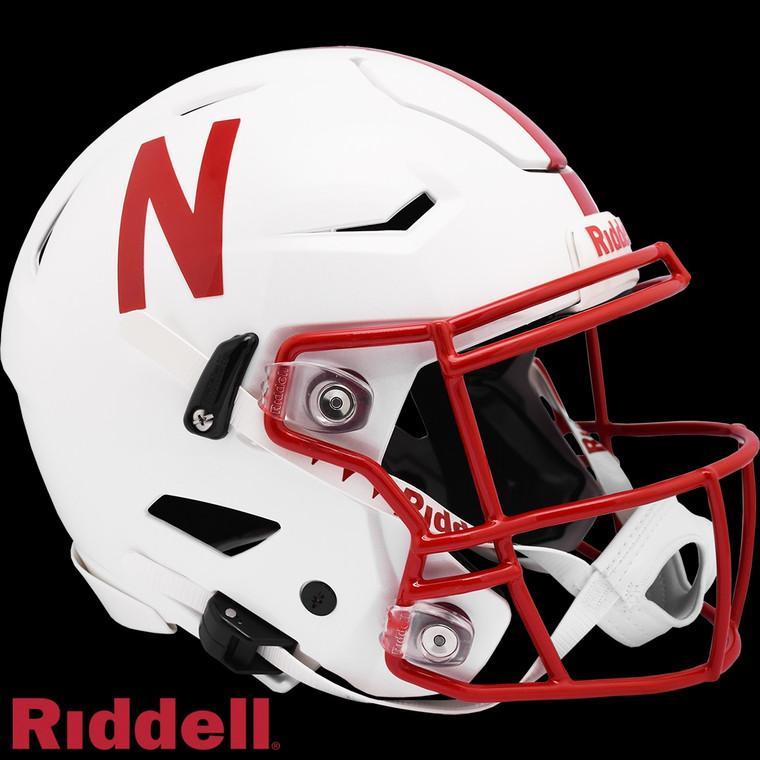 Nebraska Cornhuskers Helmet Riddell Authentic Full Size SpeedFlex Style