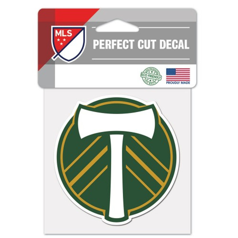 Portland Timbers Decal 4x4 Perfect Cut Color