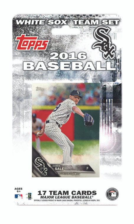 Chicago White Sox Topps Team Set - 2016 - Special Order