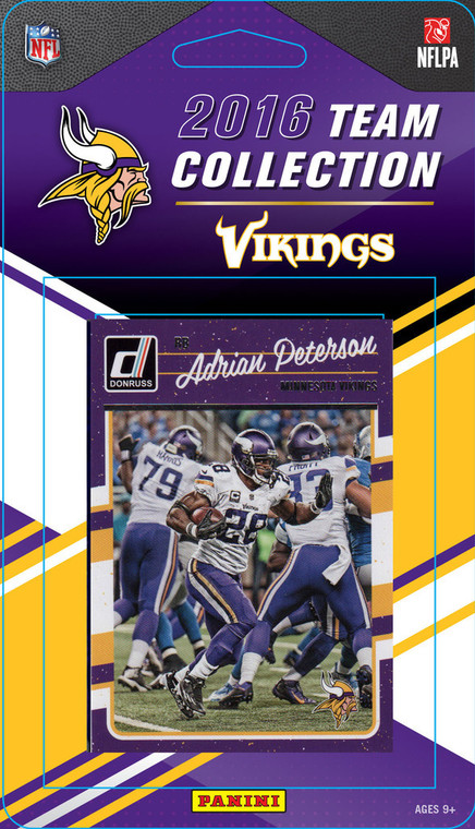Minnesota Vikings Donruss NFL Team Set - 2016