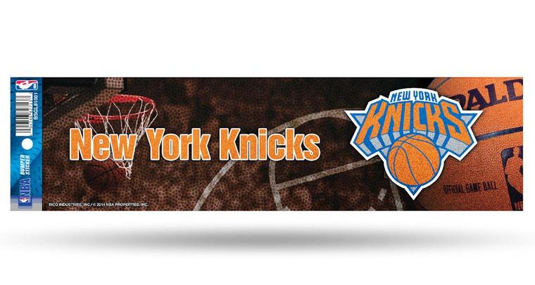 New York Knicks Decal Bumper Sticker Glitter Special Order