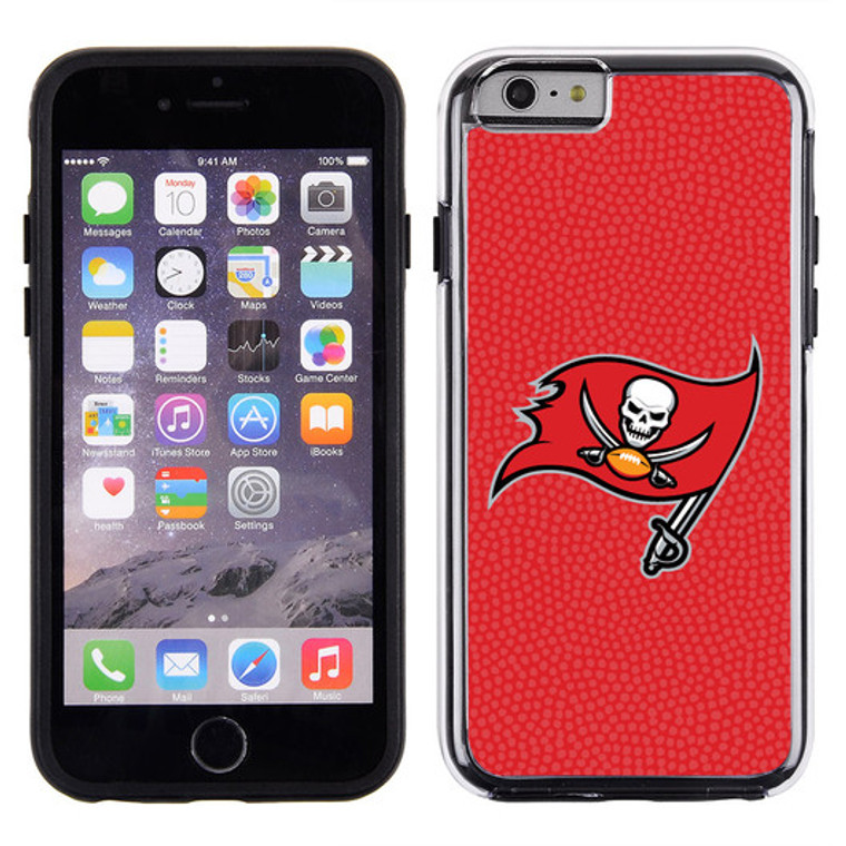 Tampa Bay Buccaneers Phone Case Team Color Football Pebble Grain Feel iPhone 6