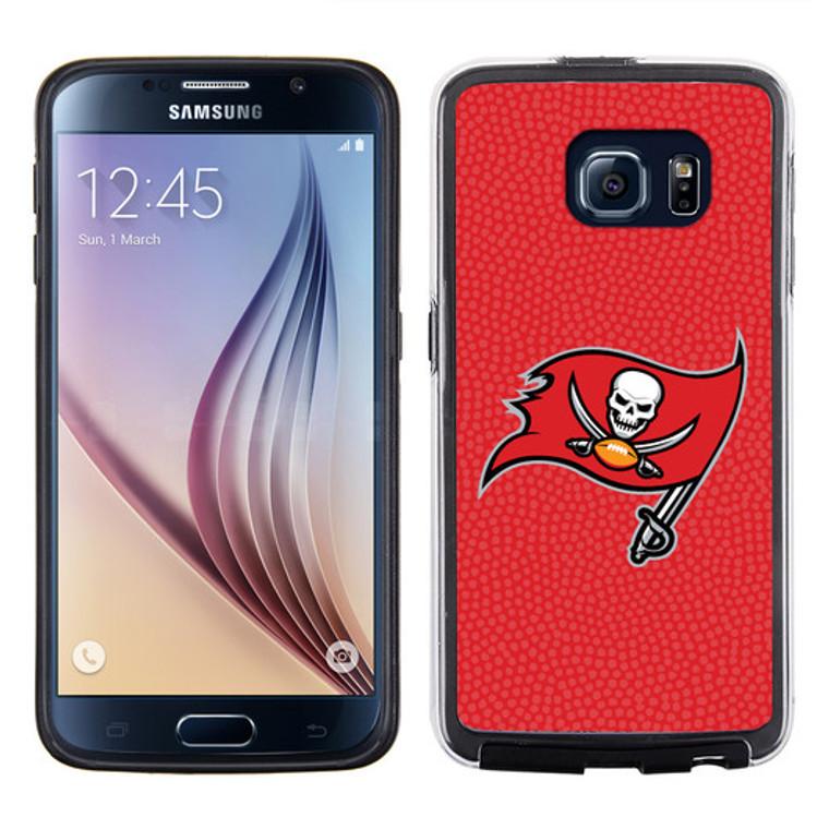 Tampa Bay Buccaneers Phone Case Team Color Football Pebble Grain Feel Samsung Galaxy S6