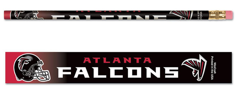 Atlanta Falcons Pencil 6 Pack Special Order