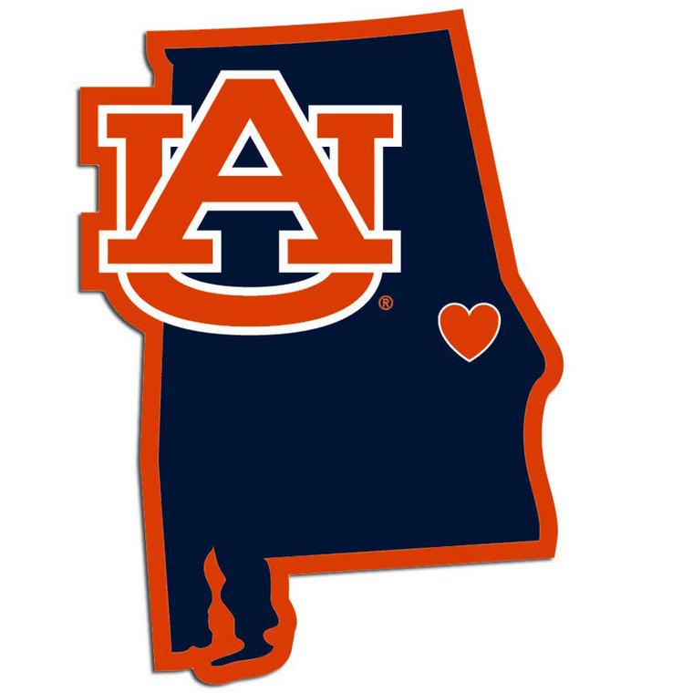 Auburn Tigers Decal Home State Pride Style Special Order