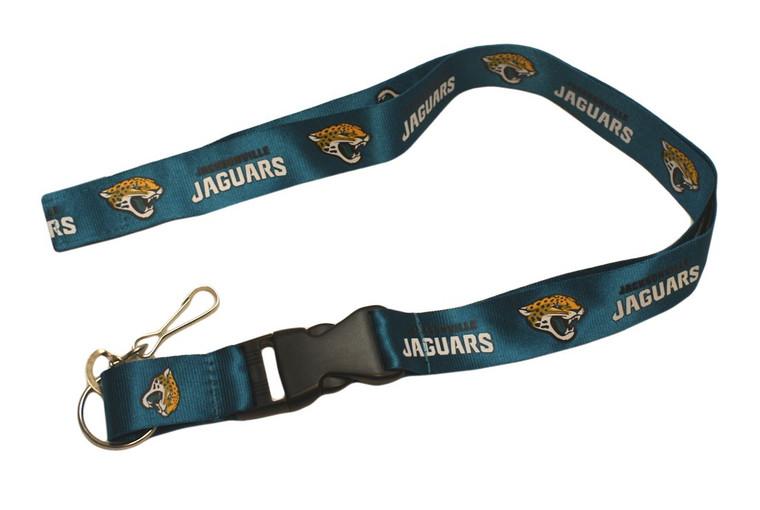Jacksonville Jaguars Lanyard Breakaway with Key Ring Style Special Order