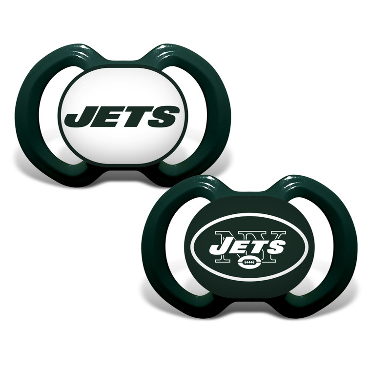 New York Jets Pacifier 2 Pack Special Order