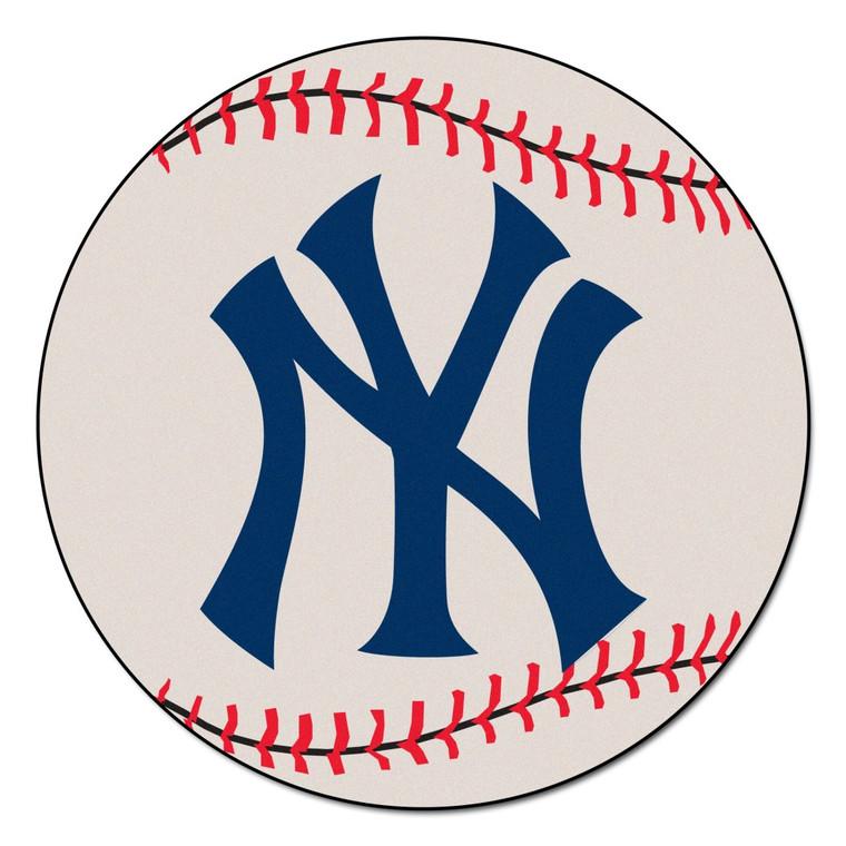 New York Yankees Mat Baseball 29 Inch Special Order