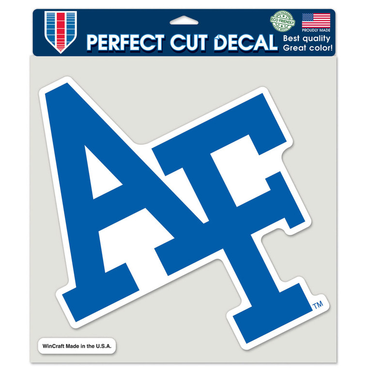 Air Force Falcons Decal 8x8 Perfect Cut Color