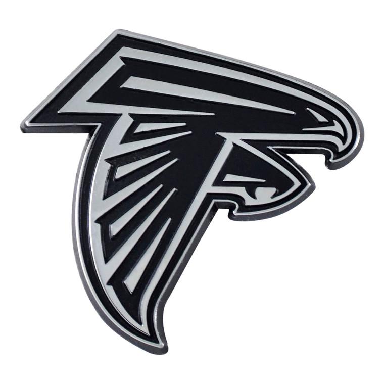 Atlanta Falcons Auto Emblem Premium Metal Chrome