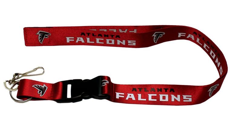 Atlanta Falcons Lanyard Breakaway with Key Ring Style