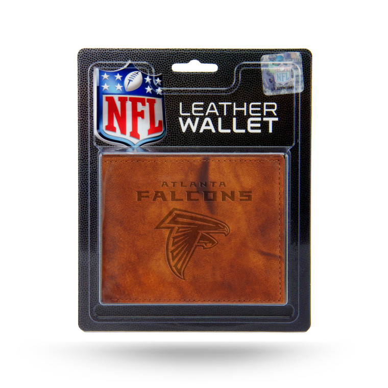 Atlanta Falcons Wallet Billfold Leather Embossed