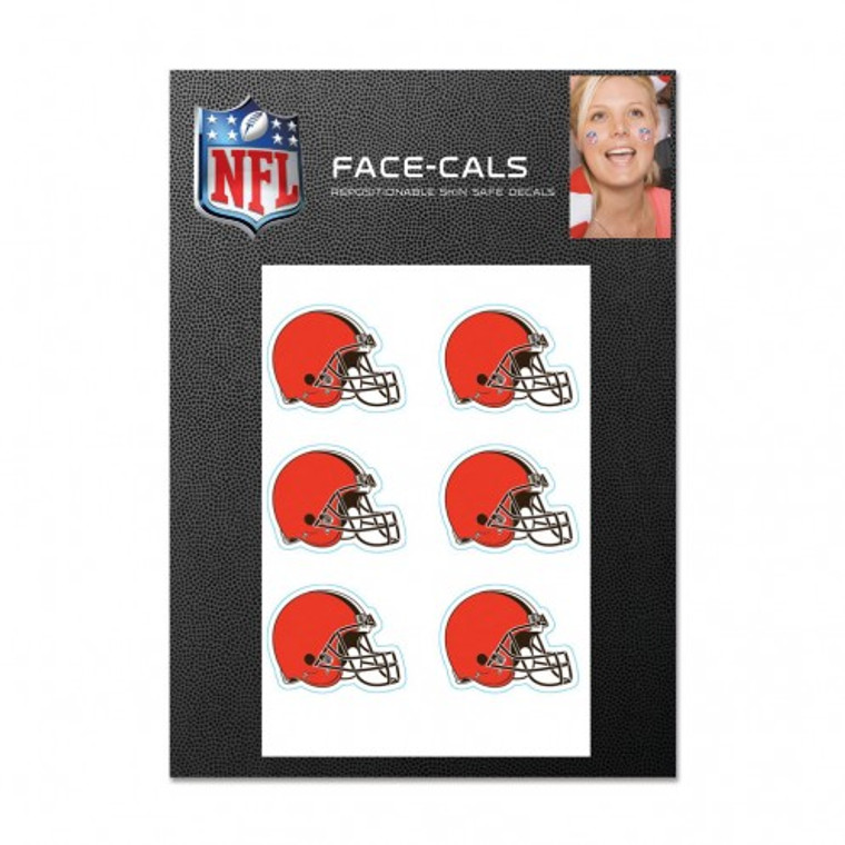 Cleveland Browns Tattoos Face Cals