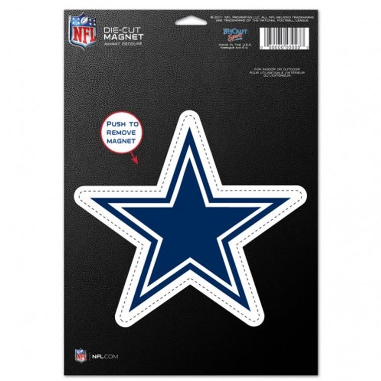 Dallas Cowboys Magnet 6.25x9 Die Cut Logo Design