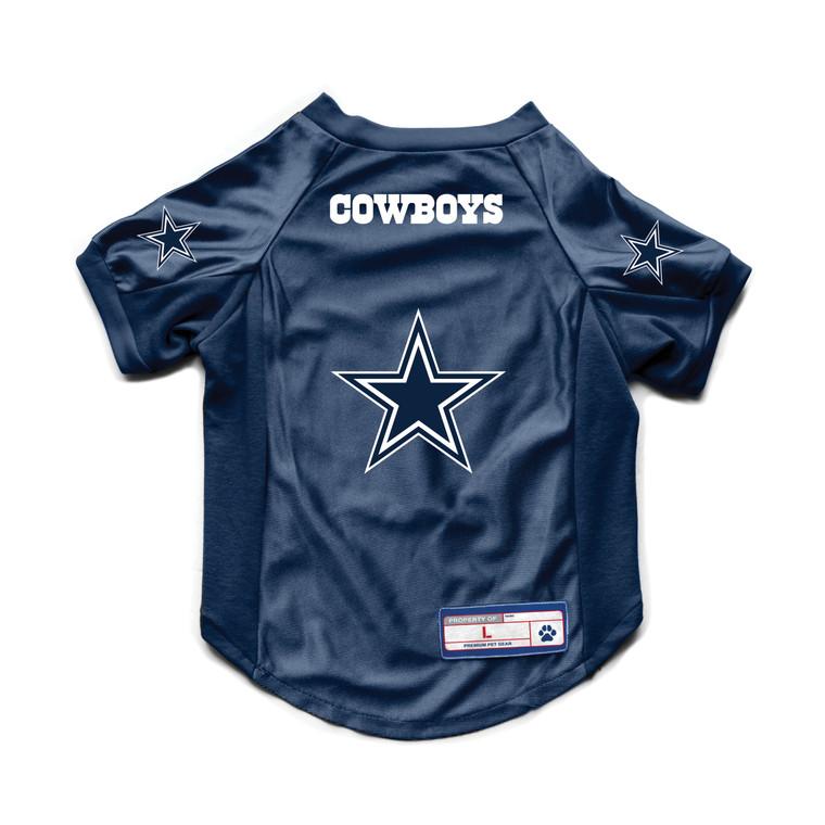 Dallas Cowboys Pet Jersey Stretch Size XS