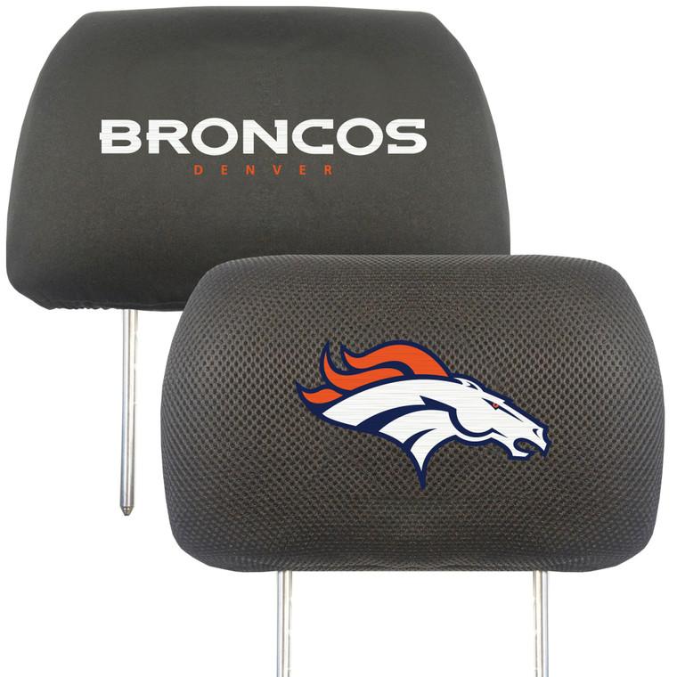Denver Broncos Headrest Covers FanMats