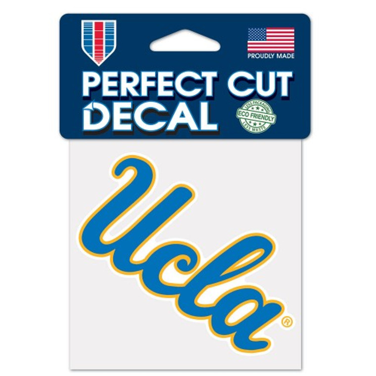 UCLA Bruins Decal 4x4 Perfect Cut Color