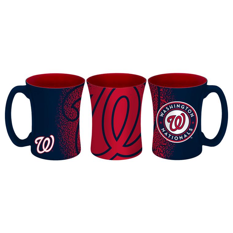 Washington Nationals Coffee Mug 14oz Mocha Style