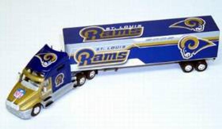 St. Louis Rams Fleer Collectibles 2002 Tractor Trailer