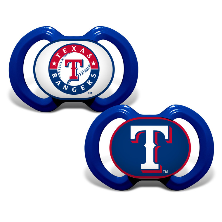 Texas Rangers Pacifier 2 Pack Special Order