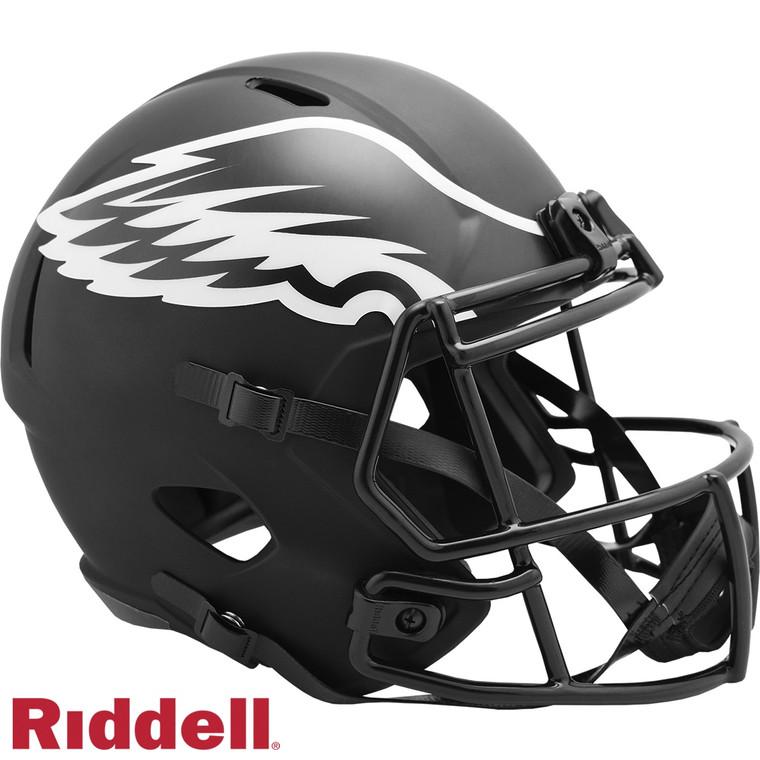 Philadelphia Eagles Helmet Riddell Replica Full Size Speed Style Eclipse Alternate Special Order