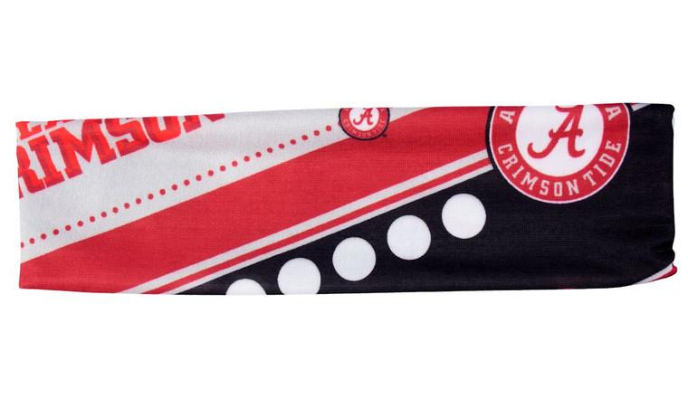 Alabama Crimson Tide Headband Stretch Patterned Special Order