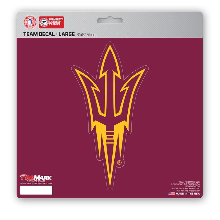 Arizona State Sun Devils Decal 8x8 Die Cut Special Order