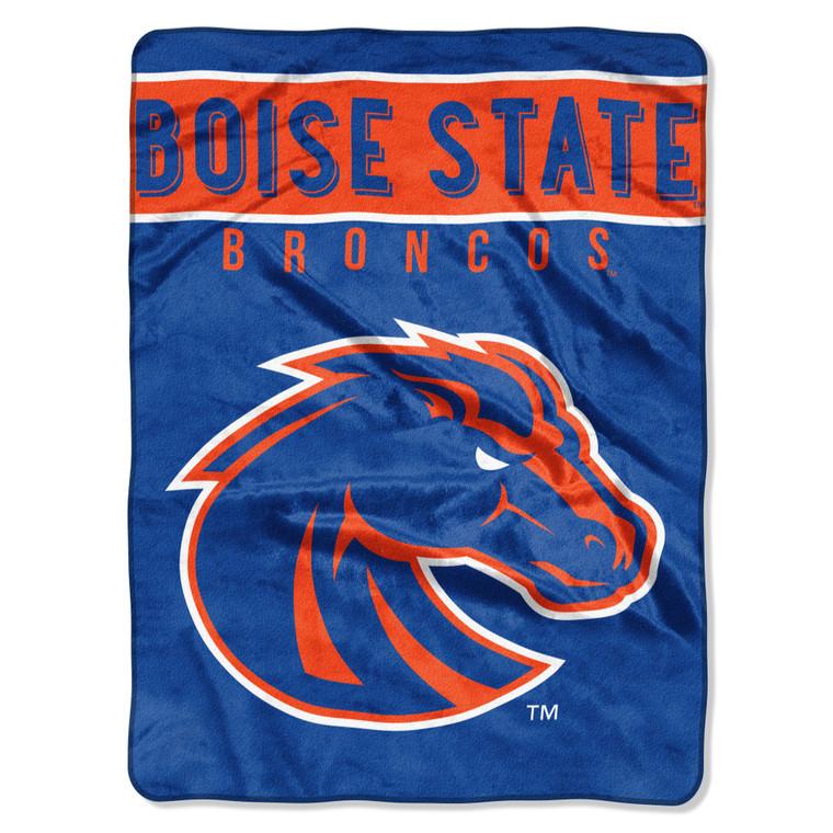 Boise State Broncos Blanket 60x80 Raschel Basic Design Special Order