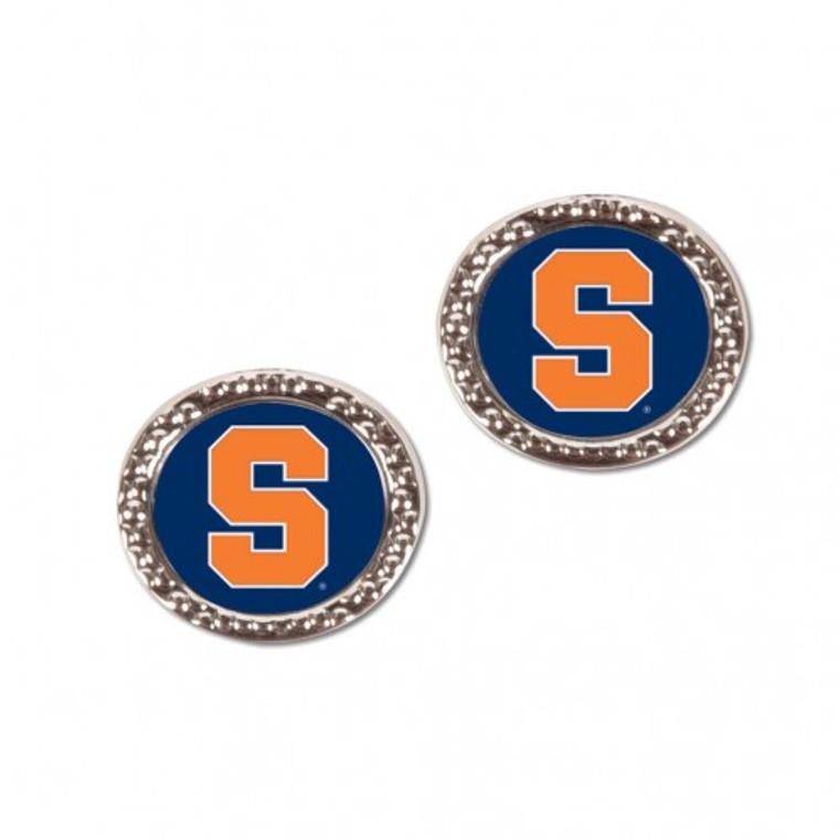 Syracuse Orange Earrings Post Style Special Order