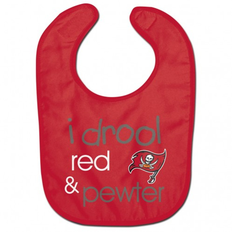 Tampa Bay Buccaneers Baby Bib All Pro Style I Drool Design Special Order