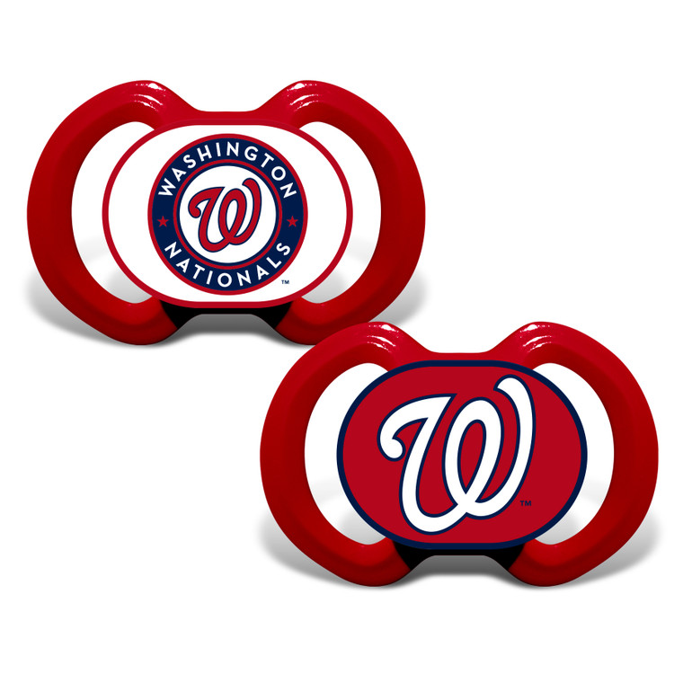 Washington Nationals Pacifier 2 Pack Special Order
