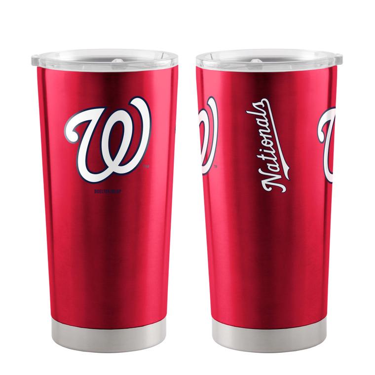 Washington Nationals Travel Tumbler 20oz Ultra Red Special Order