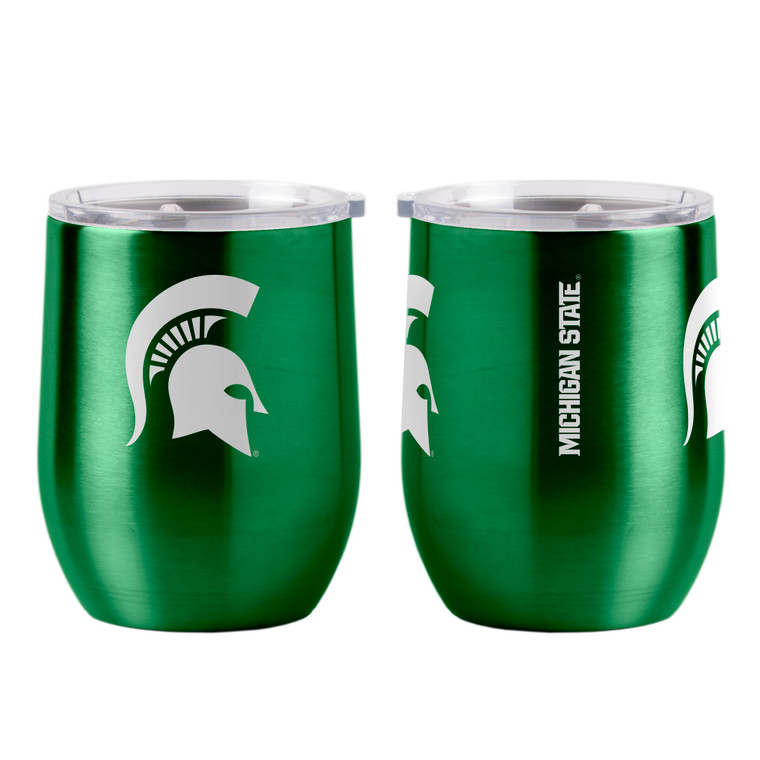 Michigan State Spartans Travel Tumbler 16oz Ultra Curved Beverage