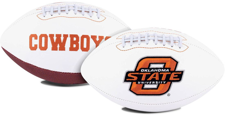 Oklahoma State Cowboys Football Full Size Embroidered Signature Series