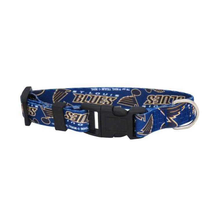 St. Louis Blues Pet Collar Size L