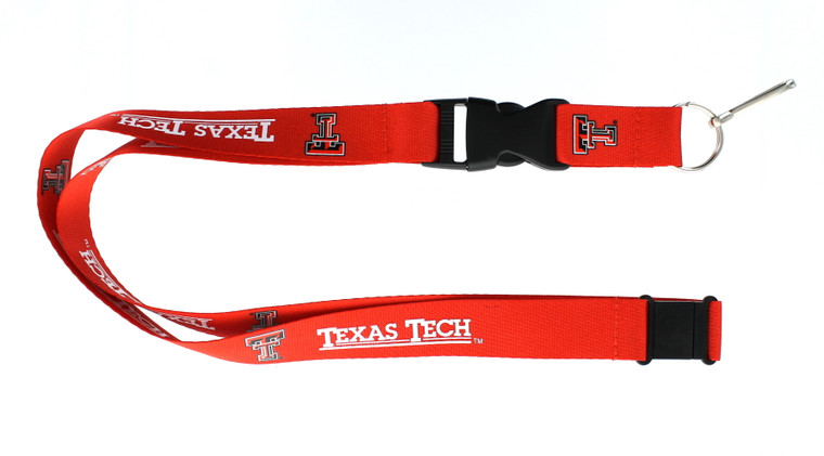 Texas Tech Red Raiders Lanyard Red