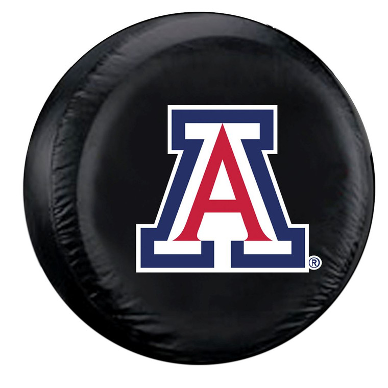 Arizona Wildcats Tire Cover Standard Size Black Special Order