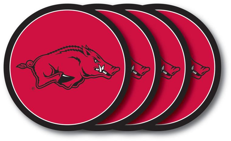 Arkansas Razorbacks Coaster Set 4 Pack Special Order