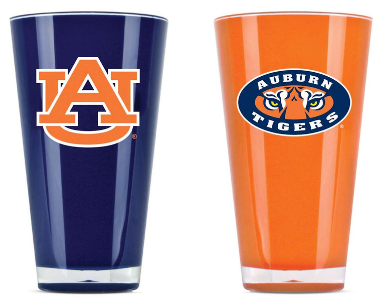Auburn Tigers Tumblers Set of Two 20oz Special Order