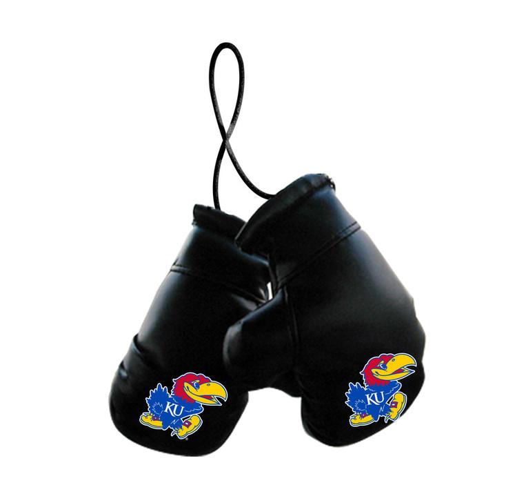 Kansas Jayhawks Boxing Gloves Mini Special Order