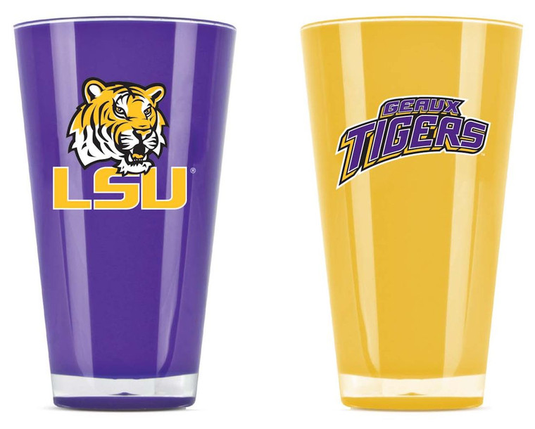 LSU Tigers Tumblers Set of Two 20oz Special Order